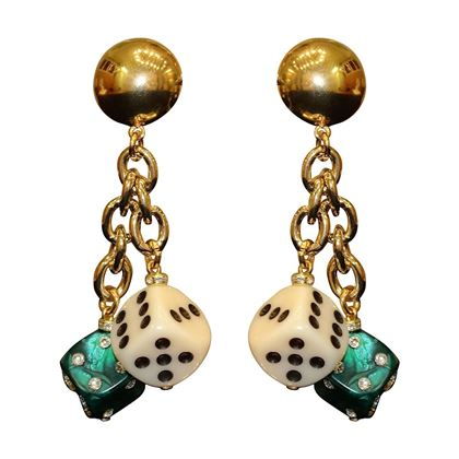 Carlo Zini Games earrings