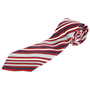 Givenchy 1980s Mens Striped Silk vintage Tie