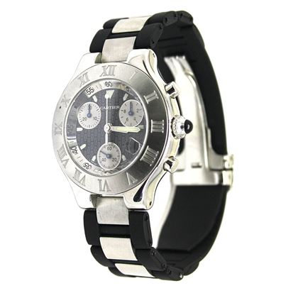 Picture of Cartier Chronoscaph 21 quartz vintage mens watch