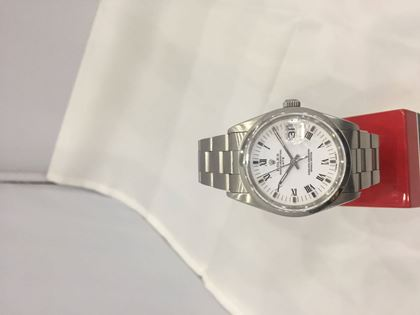 Rolex Oyster Perpetual DateJust stainless steel vintage mens watch