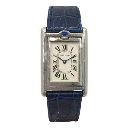 Cartier top wind reversible womens vintage watch
