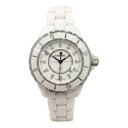 Chanel J12 ceramic white vintage womens watch