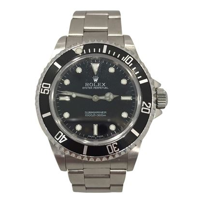 Rolex Submariner stainless steel vintage mens watch