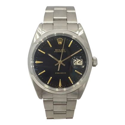 Rolex Oysterdate Precision vintage mens watch
