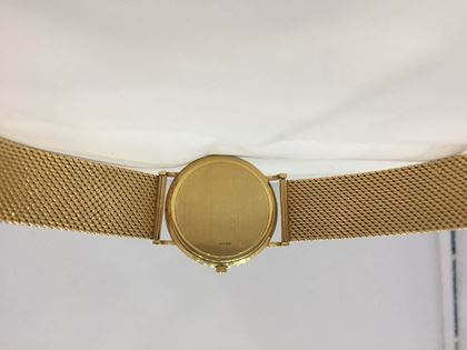 Omega 18ct yellow gold vintage mens watch
