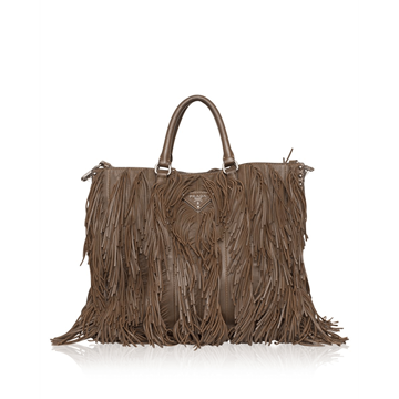 Picture of Prada nappa Fringe brown vintage Tote Bag