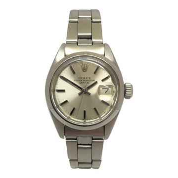 Rolex Oyster perpetual date ladies watch