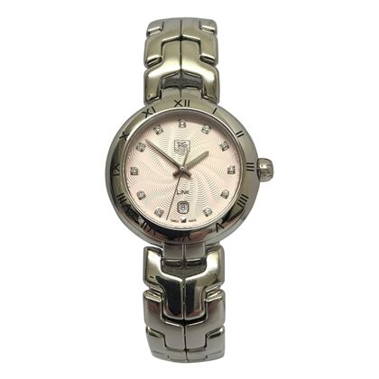 Tag Heuer Link ladies round watch