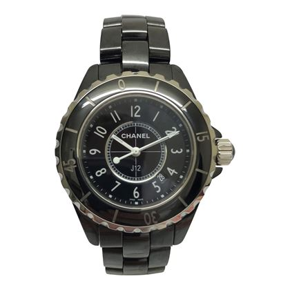 Chanel J12 black ceramic ladies watch