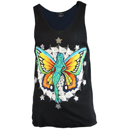 Tom Ford for Gucci S/S 2002 Mens Embroidered Fairy Vest
