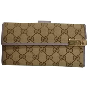 Gucci Wallet brown monogram ladies wallet