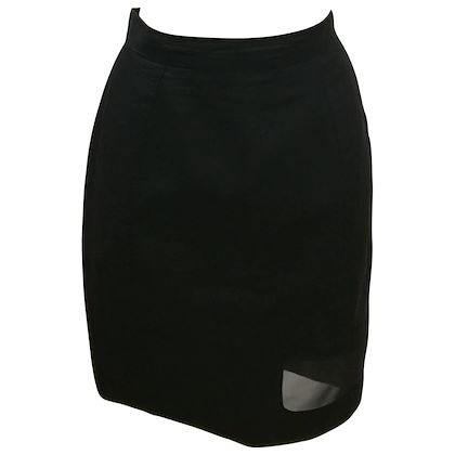 thierry-mugler-activ-linen-black-skirt-with-net