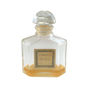 """Picture of Guerlain 1960s """"Jicky"""" perfume bottle with box"""
