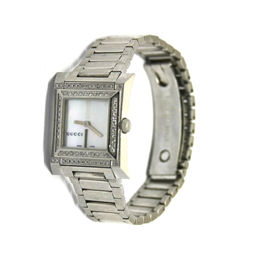 Gucci Gucci mother of pearl & diamond vinage ladies watch