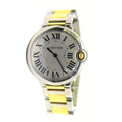 Cartier Ballon Bleu gold & steel ladies watch