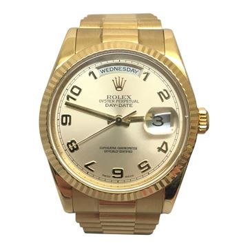 Rolex Day Date President 18k gold vintage mens watch
