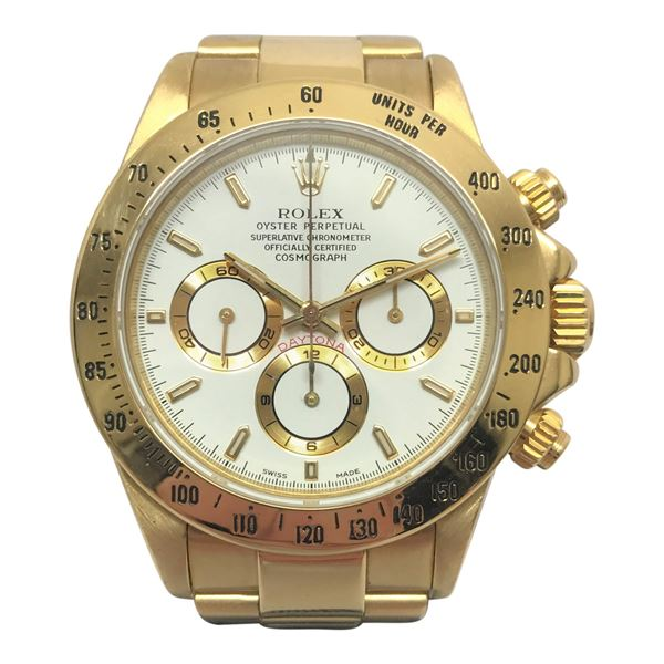 rolex daytona 18k gold vintage mens open for vintage