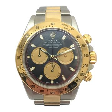 Rolex Daytona two tone vintage mens watch