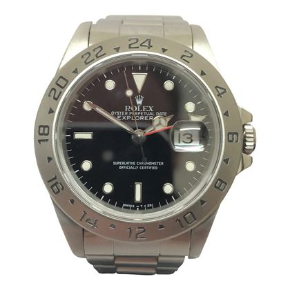 Rolex Explorer II stainless steel vintage mens watch