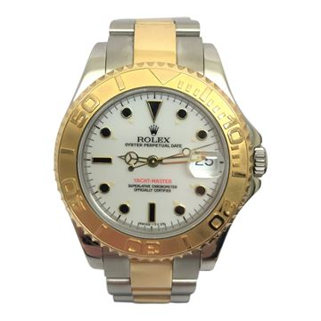 Rolex Yacht Master two tone vintage ladies watch