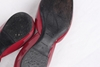 Roger Vivier D'Orsay Patent Leather Cut Out Burgundy Red Vintage Ballerina Flat Shoes
