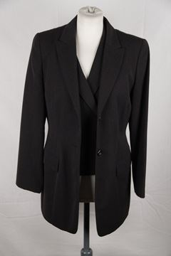 Jil Sander New Wool 3 Piece Grey Vintage Trouser Suit
