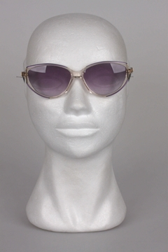 Givenchy 1980s Catseye Style Purple Vintage Sunglasses