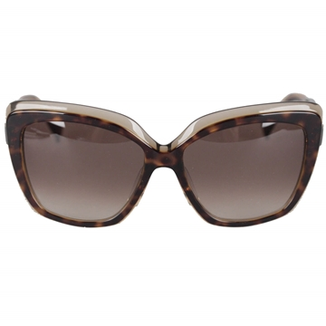 Emilio Pucci Oversized Catseyes Tortoise Brown Vintage Sunglasses