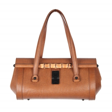 Gucci Tan Leather Tom Ford Era vintage Satchel