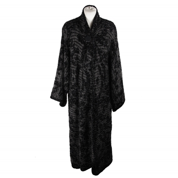 Missoni Glitter Mohair Wool Blend Black Vintage Coat