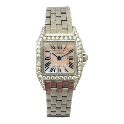 Cartier Tank stainless steel small size ladies watch