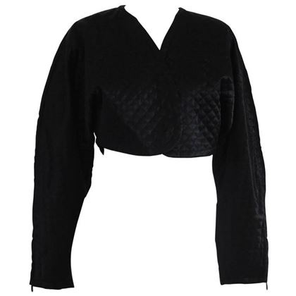 byblos-black-cotton-bolero