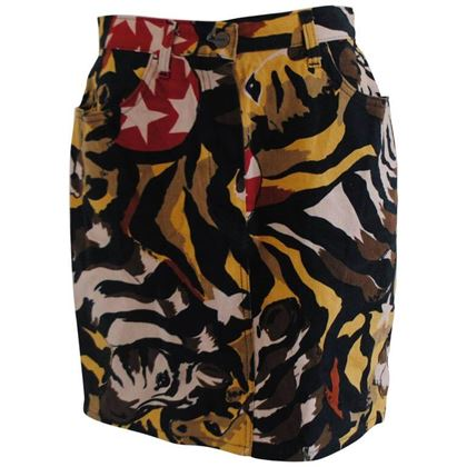 iceberg-zebra-multicolour-cotton-skirt