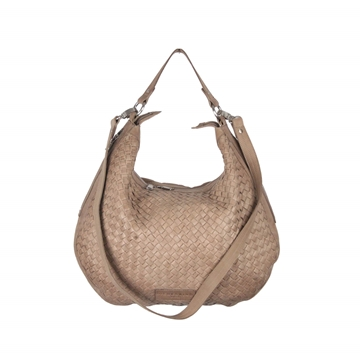 liebeskind-berlin-taupe-woven-leather-mandy-hobo-bag