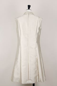 Picture of Uli Richter 1960s raw silk champagne vintage dress