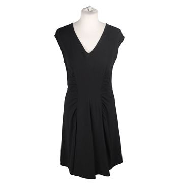 Prada Cap Sleeve Little Black Vintage Dress