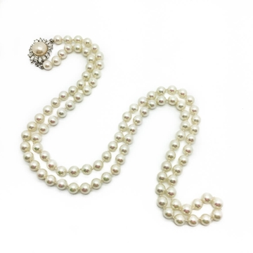 Christian Dior Opera Length Faux Pearl Vintage Necklace