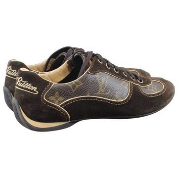 Louis Vuitton Monogram Brown Vintage Sneakers