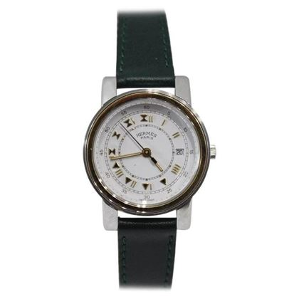 Vintage Hermes Carrick Gold Plated Quartz Watch