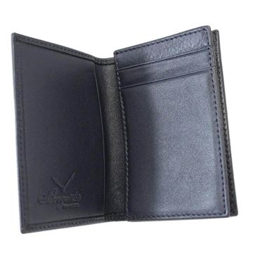 Breguet Leather  Black Vintage Cardholder Wallet