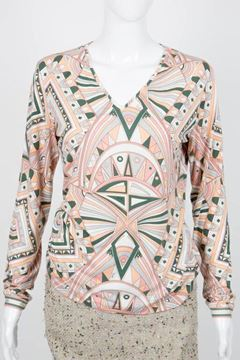Pucci 2000s Multicolour classic patterned vintage Top
