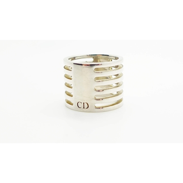 Picture of Christian Dior Solid Silver Statement Band Ring