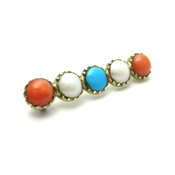 antique-victorian-1837-1901-coral-pearl-turquoise-gold-bar-brooch