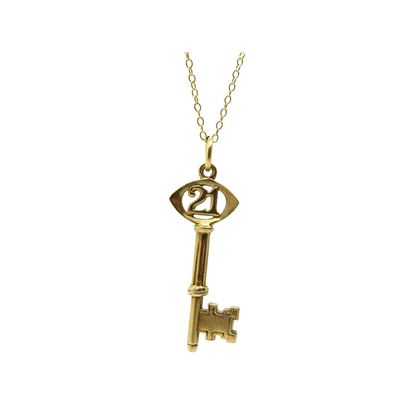 vintage-1967-21st-birthday-yellow-gold-charm-necklace