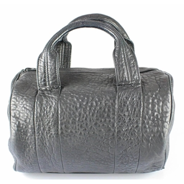 Alexander Wang Rocco Pebbled Leather Black Vintage Handbag