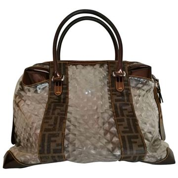 Fendi Limited Edition FF Logo brown vintage speedy Bag