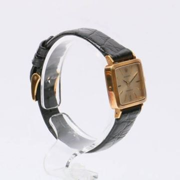 Rolex Precision Square Manual Wind Gold Vintage Ladies Watch
