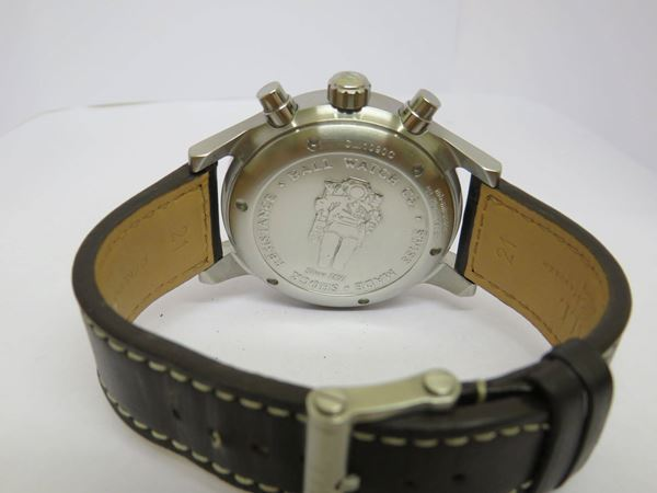 Ball 2000s Fireman Gentleman's Chronograph Brown Vintage Watch