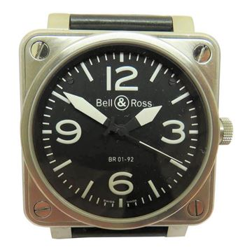 Bell & Ross 2000s BR1-92 Gents Black Vintage Watch