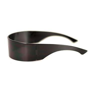 Martin Margiela Shield Black Mens Unisex sunglasses